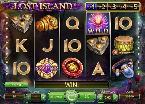 Netent Slot of The Week: Lost Island Slot | Best Netent Slot Sites