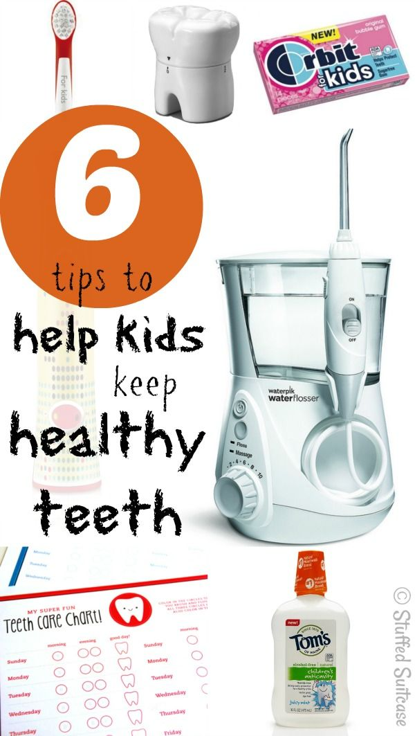 6 Tips to Help Kids have Healthy Teeth and Practice Good Dental Health StuffedSuitcase.com - http://brushflossandmouthwash.com