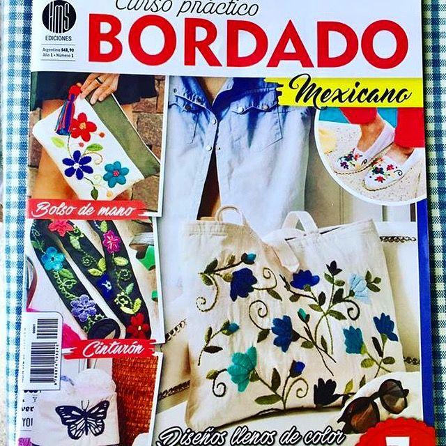 Revista bordados Inés Etcheberry  www.facebook.com/bordados.ines1