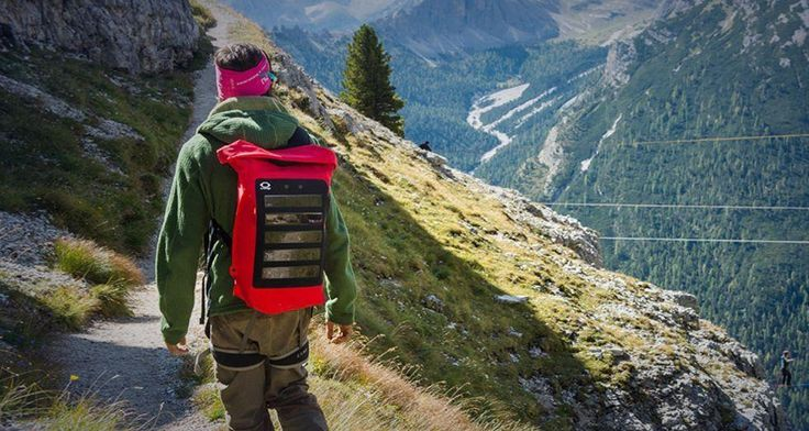 We can use the solar energy to charge our electric devices. So go to an adventure trip with backpack bag which have lithium polymer battery to keep your required equipment's charged and working.