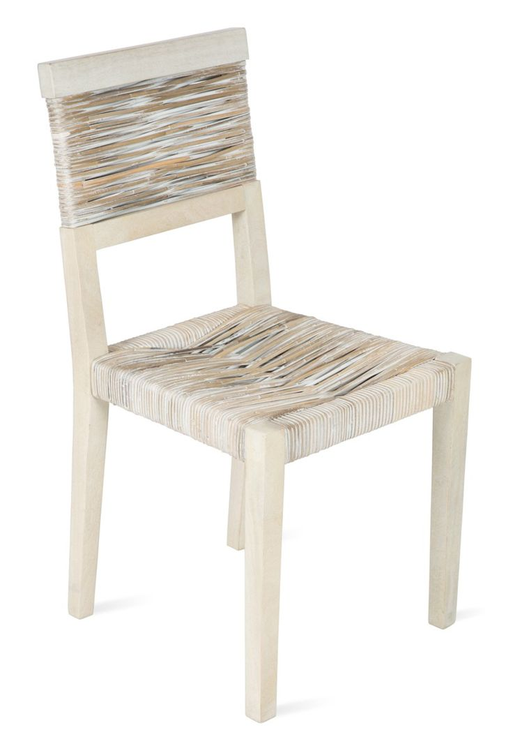 Earthy Rattan Dining Chair