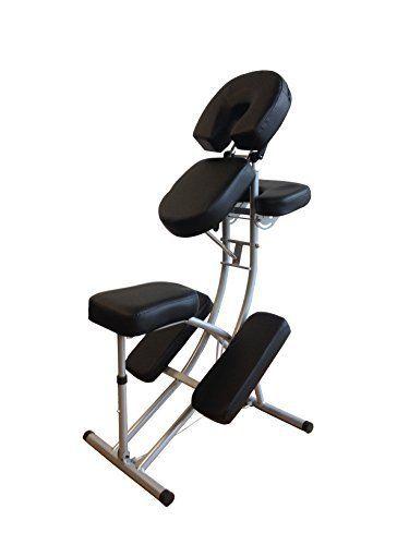 H-racine de Massage portative chaise légère en Aluminium grand cadre avec sac de transport gratuit: Chaise de massage portable en…
