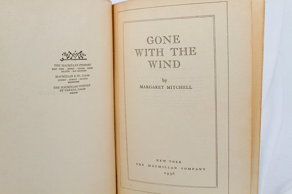 gone with the wind by margaret ↺ gone with the wind gone with the wind is a novel written by margaret mitchell, first published in 1936 the story is set in clayton county, georgia, an.