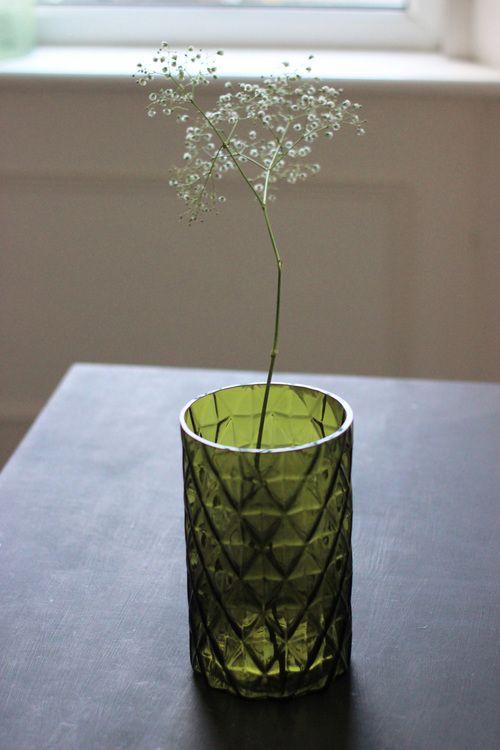 Green Vase - unique home decor at www.aprilandthebear.com