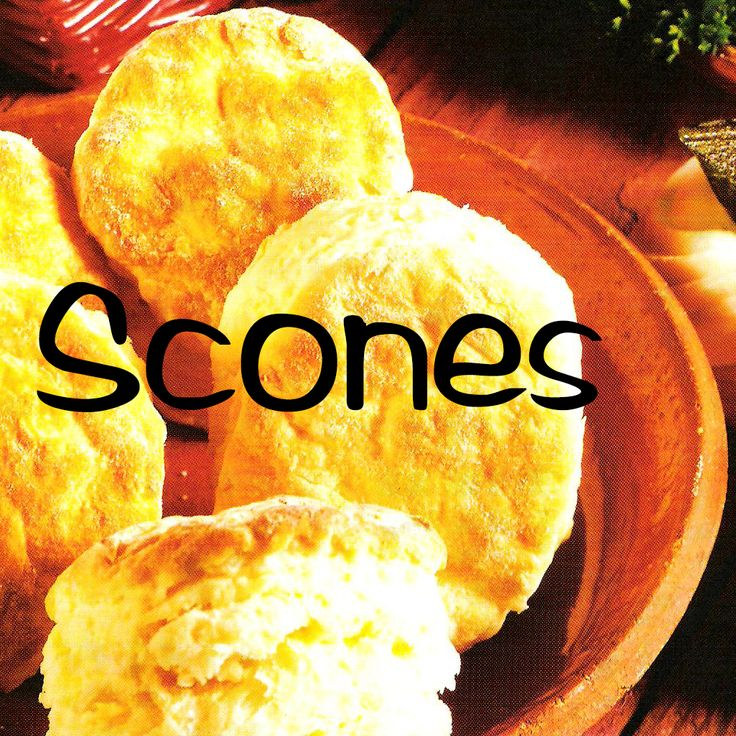 South African Recipes   Scones