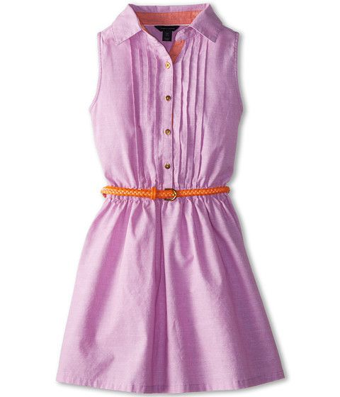 for Belted chambray shirt dress