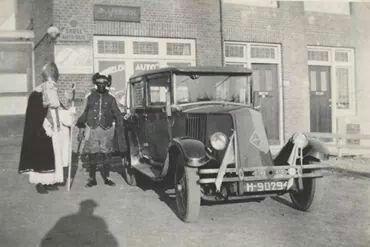 Vintage picture/Sinterklaas