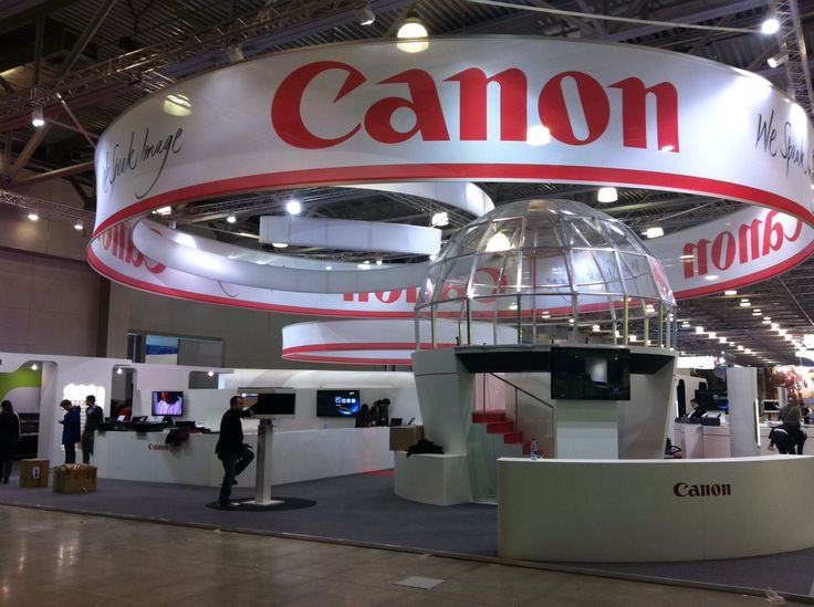 Stand Canon 1000 m2.