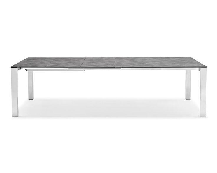 CONVOY rectangular extra-long extending table - Calligaris CS/4047-MST