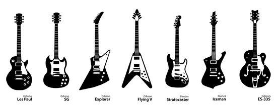 famous guitars