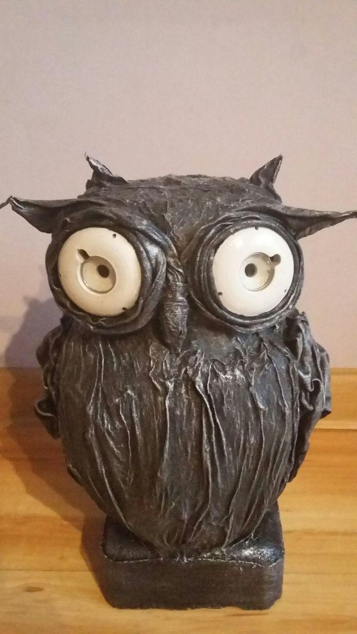 Sowa owl sculpture