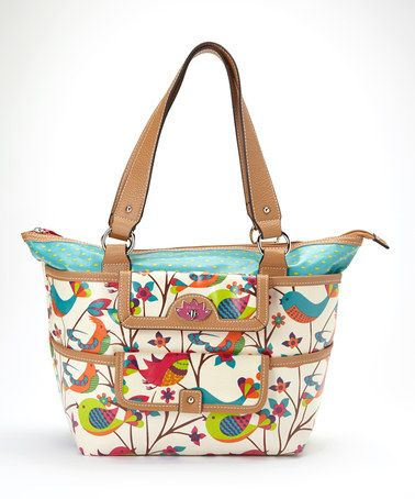 Another great find on #zulily! Tweety Twig Pocket Shopper Tote by Lily Bloom #zulilyfinds