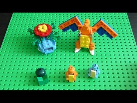 Lego Pokemon + Instructions Part 19 - Kanto Starters Revisited - YouTube