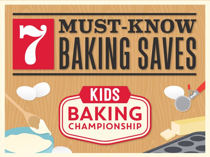 7 Must-Know Baking Saves — Kids Baking Championship : Food Network - FoodNetwork.com