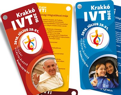 "Check out new work on my @Behance portfolio: ""WYD cards – Krakow 2016"" http://on.be.net/1QCwWal"