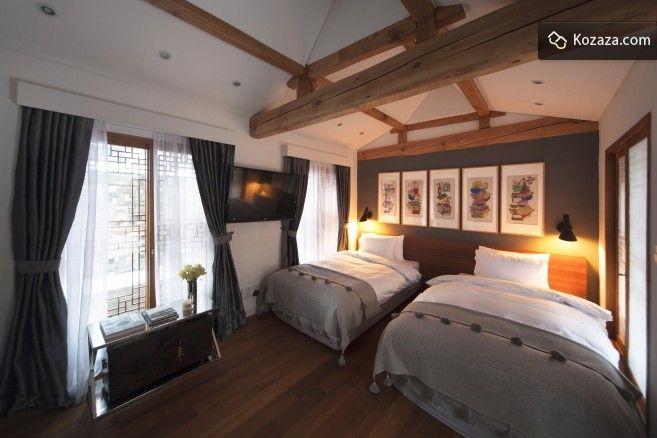 Cheongsongjae: Twin Room, Tiny Garden