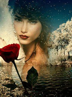 Bayan Gif Resimler Güzel Romantik Bayan Gifleri | Via ~LadyLuxury~