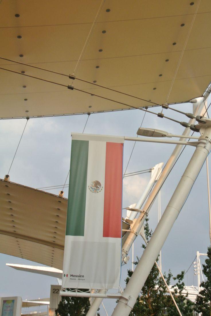 Lo Stand con la Bandiera Messicana