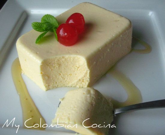 Flan de Mandarina Colombia, cocina, receta, recipe, colombian, comida.