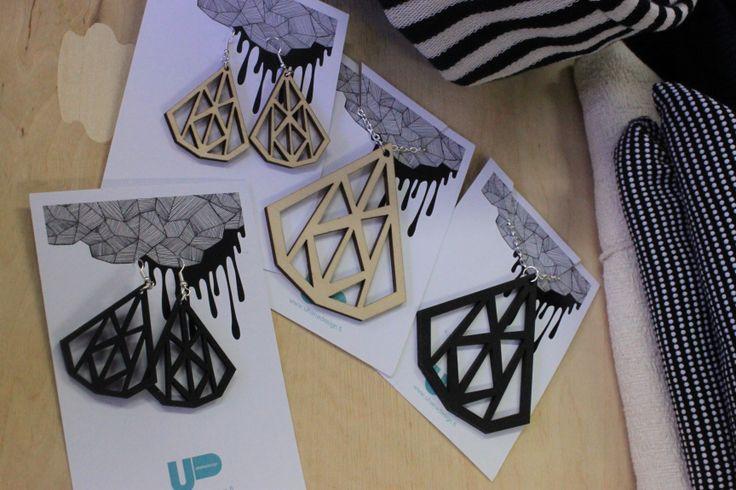 Uhana plywood jewelry
