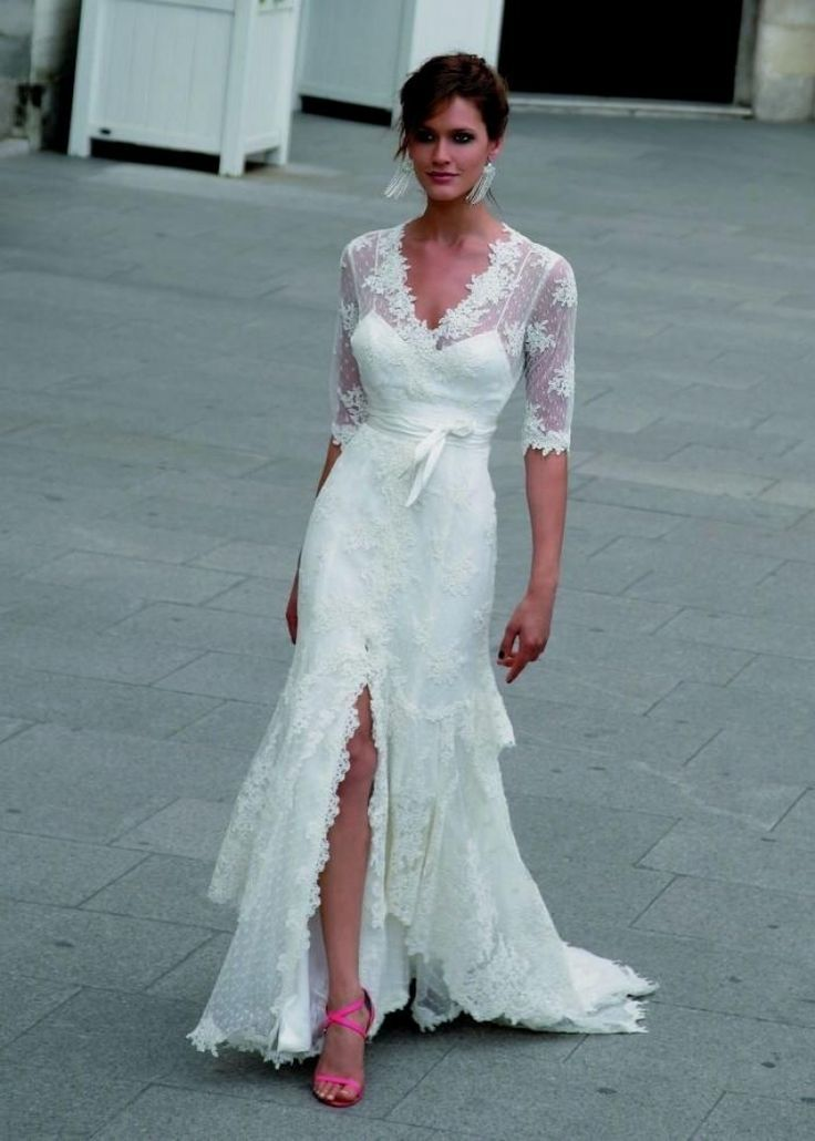 Adorable Wedding Dress Ideas For Second Marriage In 2020 Wedding Dresses Second Marriage Casual Wedding Dress 2nd Wedding Dresses