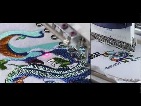ButterFly Commercial Embroidery Machine | New Embroidery Machine.    www.ButterFlyEmb.com