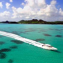 Antigua Xtreme Circumnavigation - Adult (East This exhilarating adventure takes you right around Antiguas rugged 365 beach coastline in a 45 offshore racing boat especially designed for this excursion. http://www.comparestoreprices.co.uk/activity-days/antigua-xtreme-circumnavigation--adult-east.asp