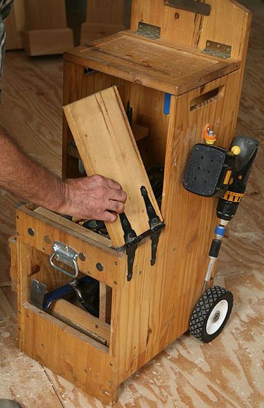 Caixa de Ferramentas - Carpinteiro - 2 | Wood Second Chance