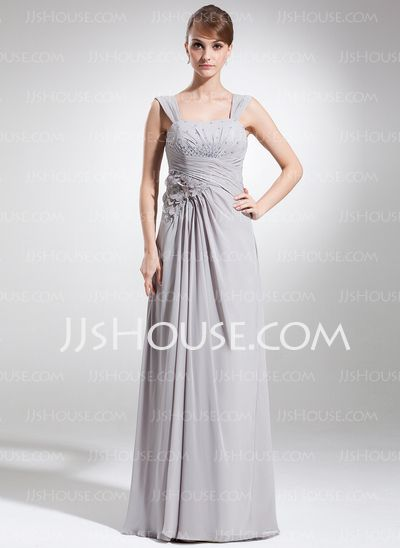 Mother of the Bride Dresses - $137.99 - A-Line/Princess Sweetheart Floor-Length Chiffon Mother of the Bride Dress With Ruffle Beading Flower(s) Sequins (008006119) http://jjshouse.com/A-Line-Princess-Sweetheart-Floor-Length-Chiffon-Mother-Of-The-Bride-Dress-With-Ruffle-Beading-Flower-S-Sequins-008006119-g6119