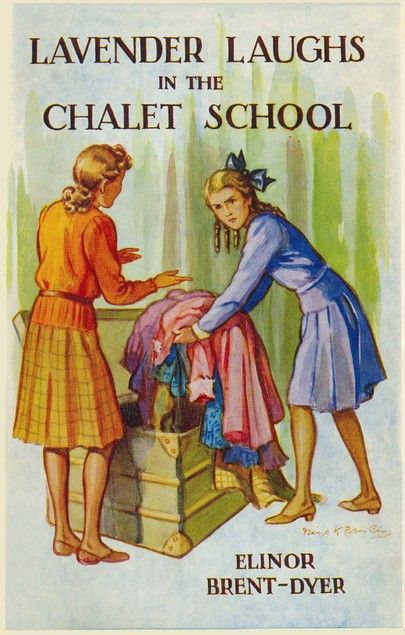 17. Lavender Laughs In The Chalet School by Elinor M. Brent Dyer