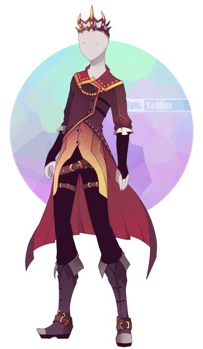 Outfit adoptable 70 (¡CERRADO!) Por Epic-Soldier