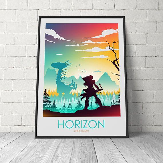 Game Horizon Zero Dawn Aloy 24 X 14 inch Silk Poster