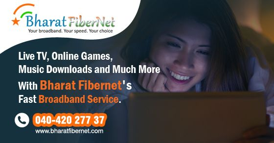 Are you waiting for buffer free streaming on #Live #TV, uninterrupted #Online #Games, hassle free #Music #Downloads and #Streaming then here is the #Fastest #Broadband #service #provider