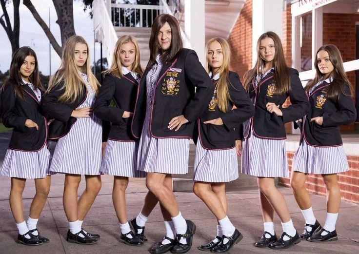 Ja'mie: Private School Girl.