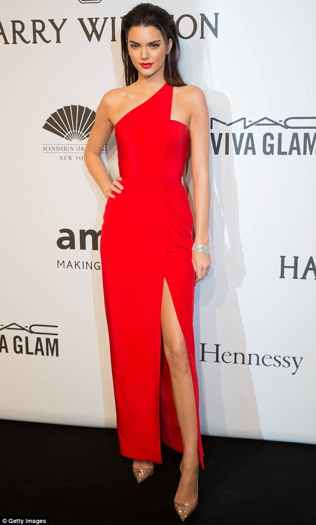 Kendall Jenner Rocks @romonakeveza To The AmFar Gala