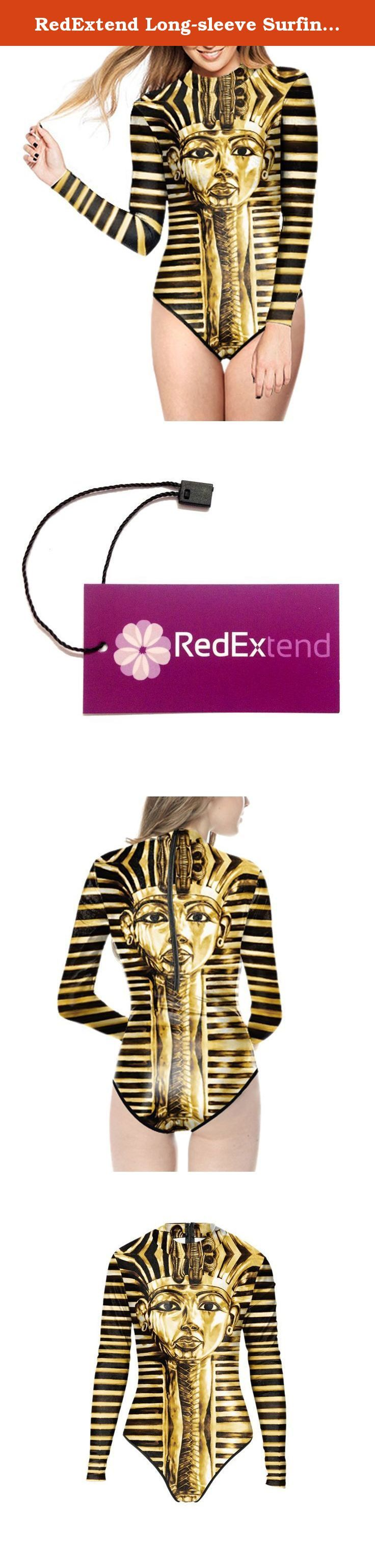 RedExtend Long-sleeve Surfing Suit Sun Protection Monokini Swimwear Bathing Suit. Our brand 'RedExtend' has been registered in US by USPTO. It is protected by laws in US. Please do not attempt to infringe our right otherwise legal action will be taken. Registration Number: 4719976. The package contains 'RedExtend' Tag 1. 100% Brand New with RedExtend Tag in each package. 2. Stretchy polyester, Lightweight, Breathable and durable, Good scalability and fastness, Soft and comfortable fit. 3....