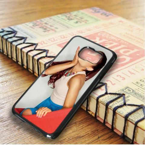 Ariana Grande Cute Kiss Samsung Galaxy S6 Edge Case