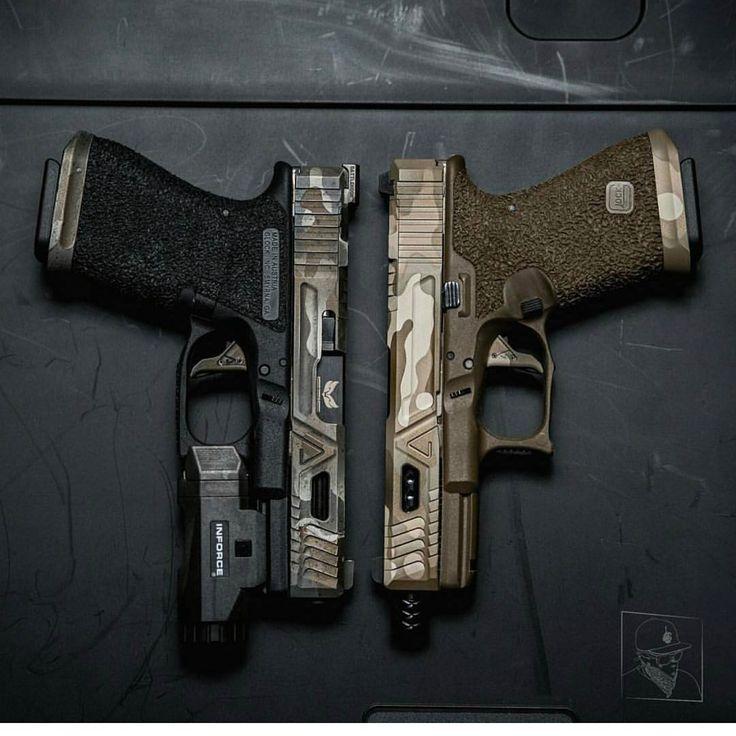 """380 次赞、 1 条评论 - Callahan (@realdirtyharry) 在 Instagram 发布:""""Back when @sg_firearms did this nasty pair of Agency Arms pistolas.."""""""