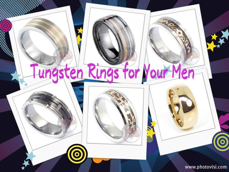 Tungsten rings for proposing your man