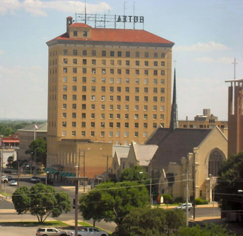 Cactus Hotel San Angelo Texas Top Of The Y All 15th