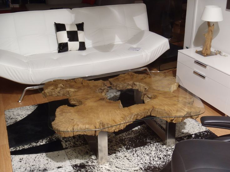 table basse souche darbretree roots coffee table - Table Basse Tronc D Arbre