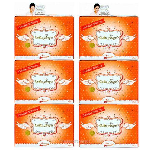 6x8000mg Vitamin Orange Flavor COLLA ANGEL Collagen Dietary Supplement Drink  Price:US $479.99  http://www.ebay.com/itm/152098599711  #ebay #paypal #Thailandfantastic #Beauty #Mineral #Vitamin #Orange #Flavor #COLLA #ANGEL #Collagen #Dietary #Supplement #Drink