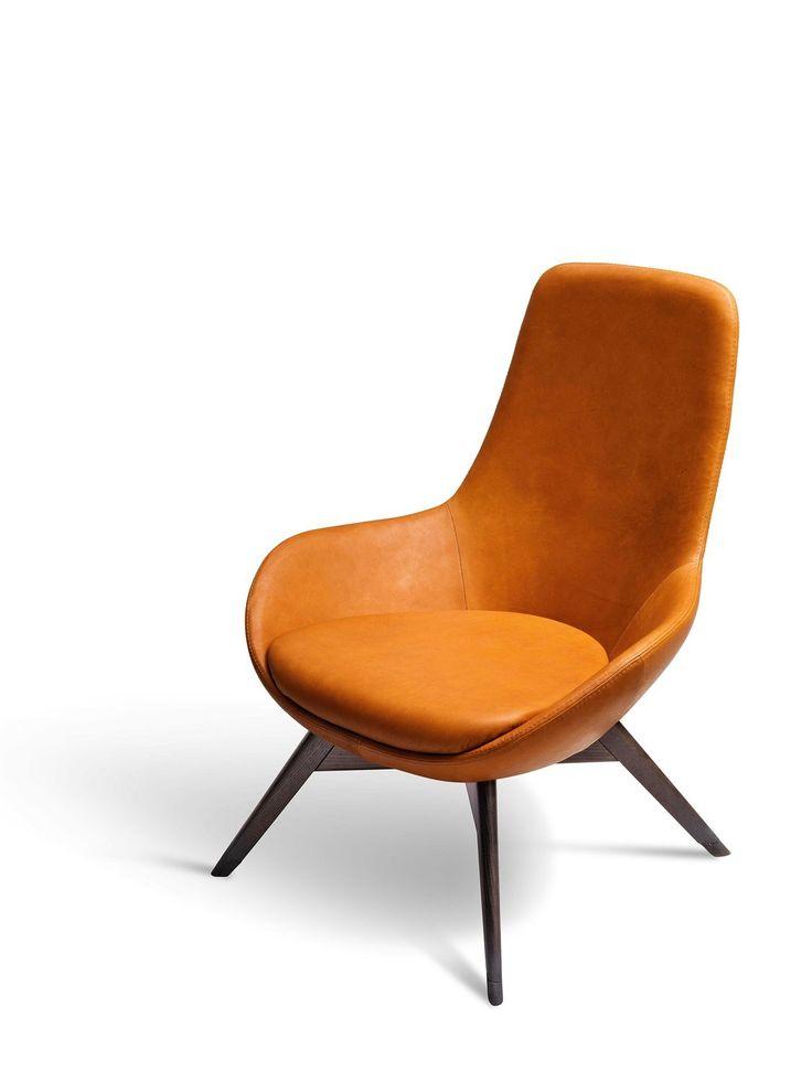Un Guscio Avvolgente Dal Sapore Vintage Linear, La Nuova Poltrona Ditre  Italia. Orange MöbelBürogebäudeMöbeldesignBänke