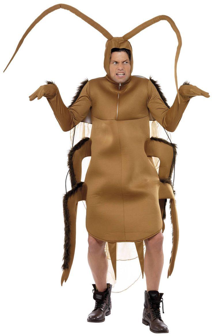 Disfraz de cucaracha para adulto. Disponible en www.vegaoo.es