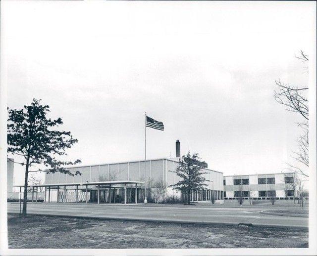 Trenton Seaway Hospital 1966 Hospital Wyandotte Main Entrance