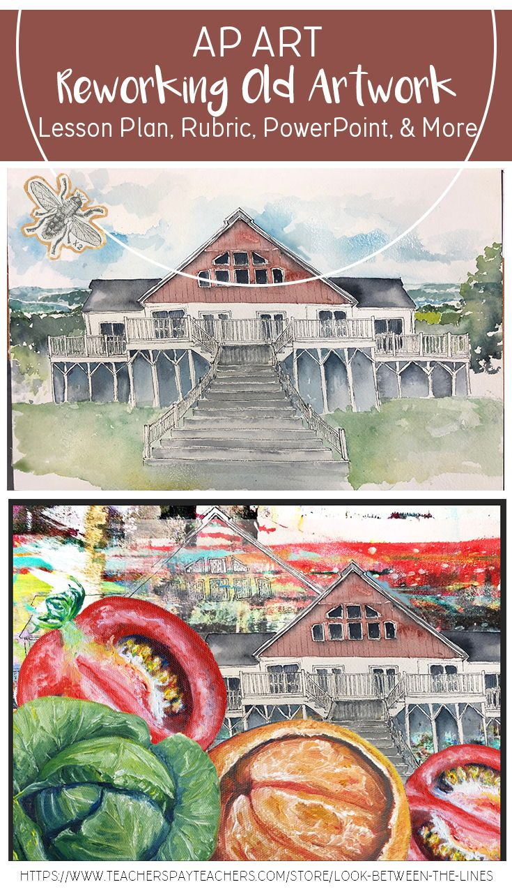 AP Studio Art or Advanced Art, Scan & Repurpose Project