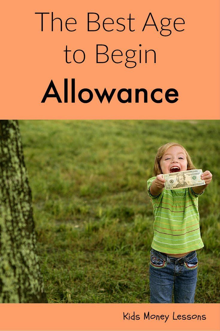 The Best Age to Begin Allowance: here's the best time to begin allowance with kids and help them understand how to manage money.