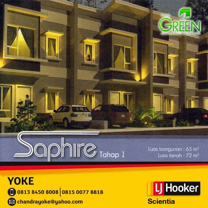 Green Residence Serpong - SAPHIRE