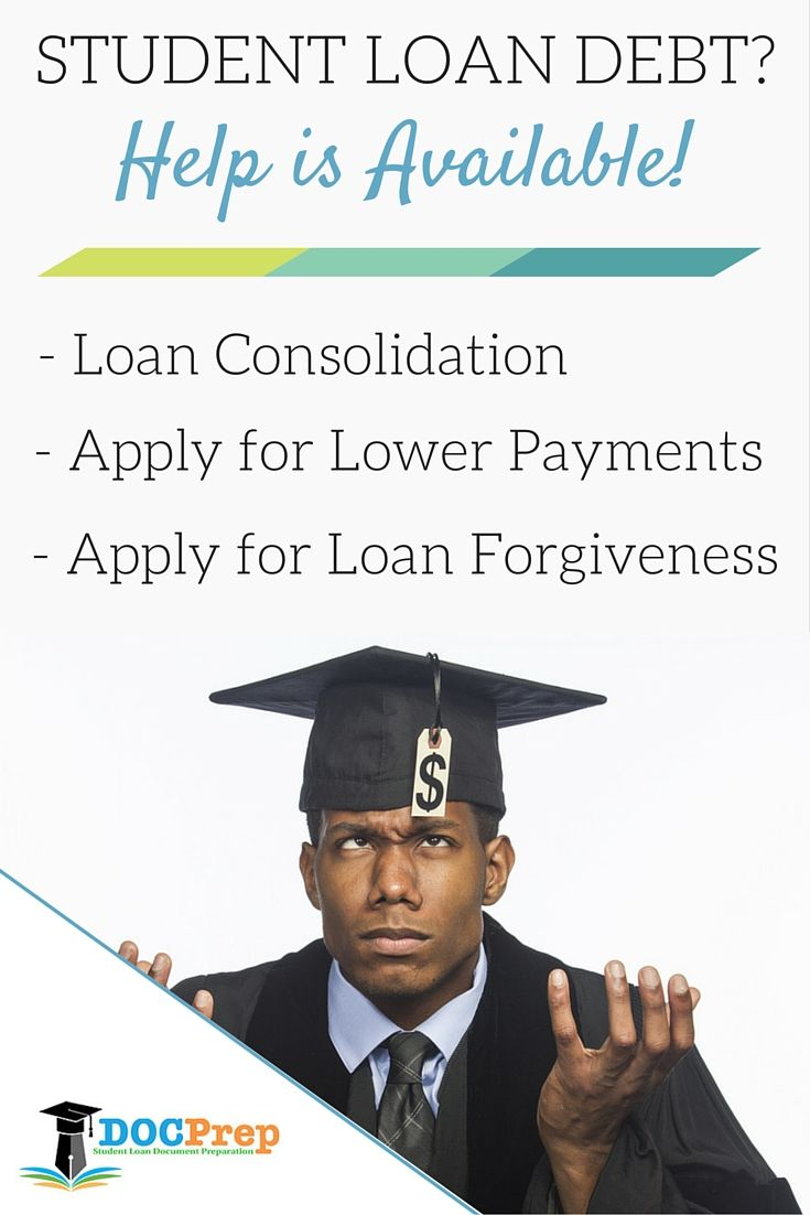 Struggling with student loan debt? We have helped thousands of students/former students that are struggling to make their student loan payments each month apply for lower monthly payments, student loan consolidation, as well as various types of student loan forgiveness such as public service loan forgiveness and teacher loan forgiveness.