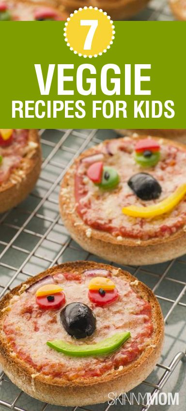 OMG sometimes it is so hard to get the kids to eat veggies!!!! So Skinny Mom put together 7 Veggie Recipes For Kids!!!!
